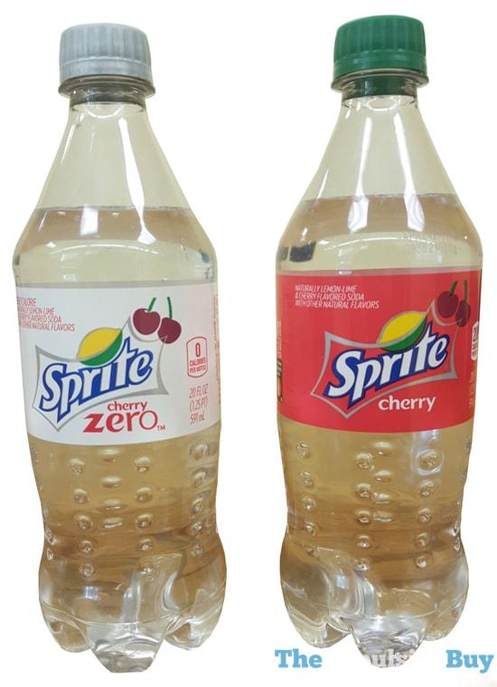 Sprite Cherry and Sprite Cherry Zero 2