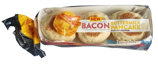 Thomas Limited Edition Bacon Buttermilk Pancake English Muffins