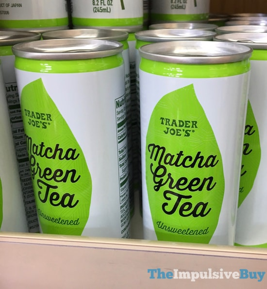 Trader Joe s Unsweetened Matcha Green Tea