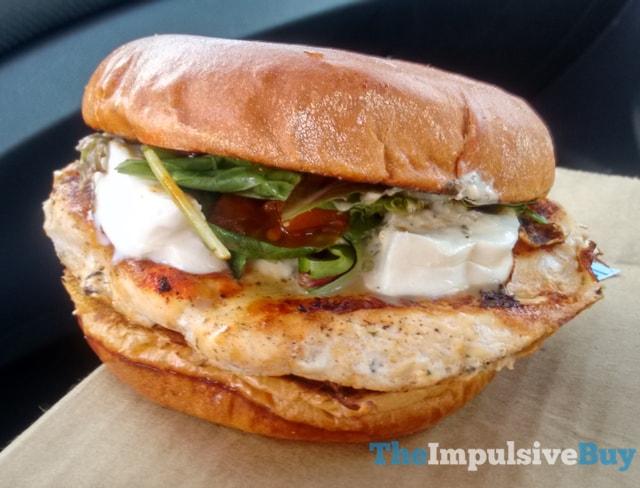 Wendy s Fresh Mozzarella Chicken Sandwich