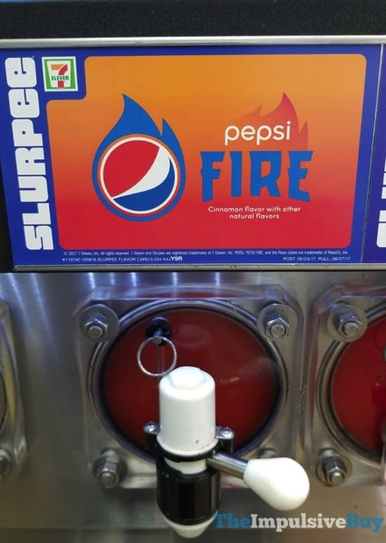 7 Eleven Pepsi Fire Slurpee