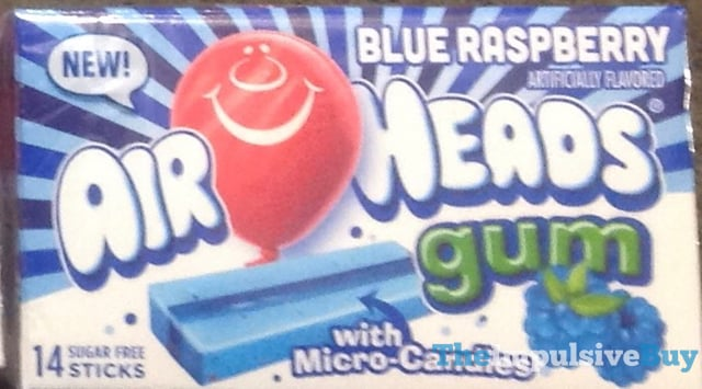 Air Heads Blue Raspberry Gum