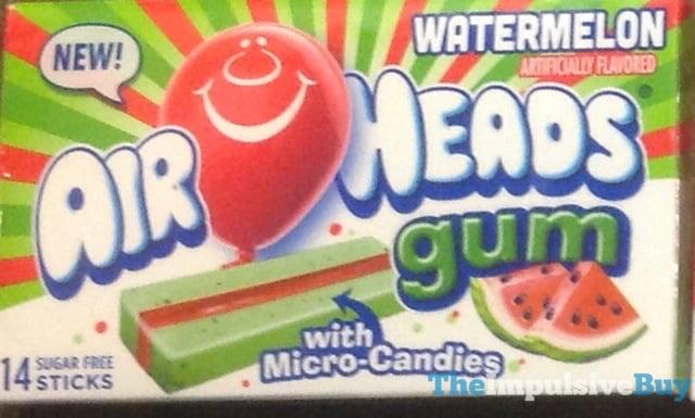 Air Heads Watermelon Gum