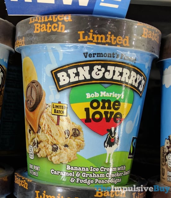 Ben  Jerry s Limited Batch Bob Marley s One Love Ice Cream
