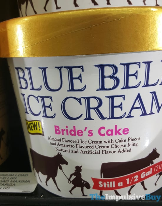 Blue Bell Bride s Cake Ice Cream