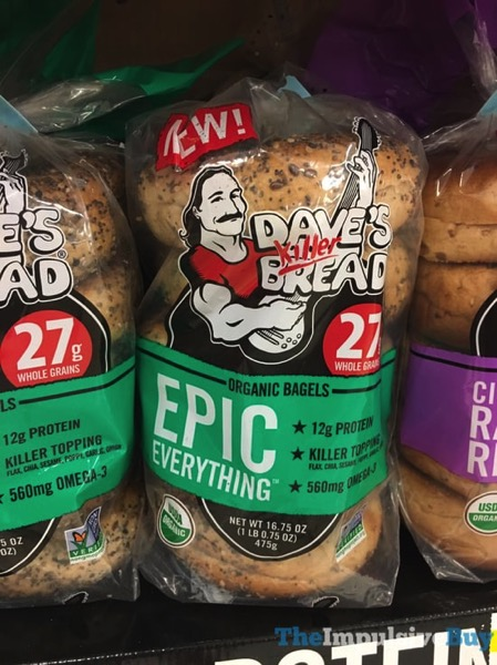 Dave s Killer Bread Epic Everything Organic Bagels