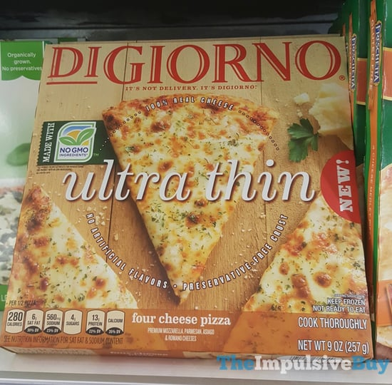 DiGiorno Ultra Thin Four Cheese Pizza
