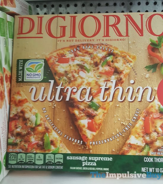 DiGiorno Ultra Thin Sausage Supreme Pizza