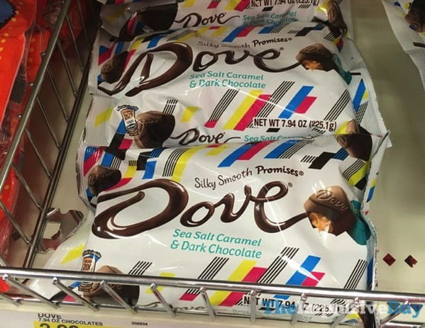 Dove Sea Salt Caramel  Dark Chocolate Promises  Summer Packaging