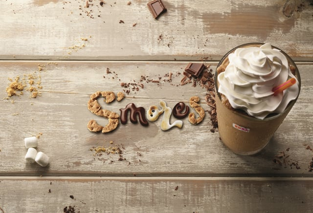 Dunkin Donuts S mores Coffee