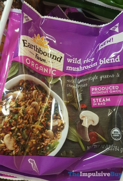Earthbound Farm Organic Wild Rice Mushroom Blend