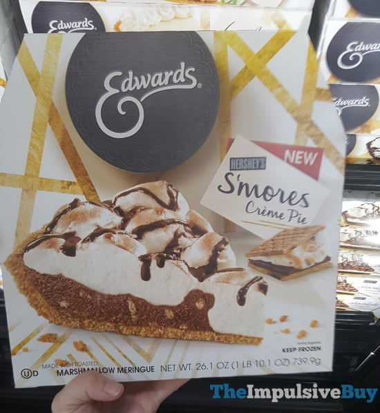 Edwards Hershey s S mores Creme Pie