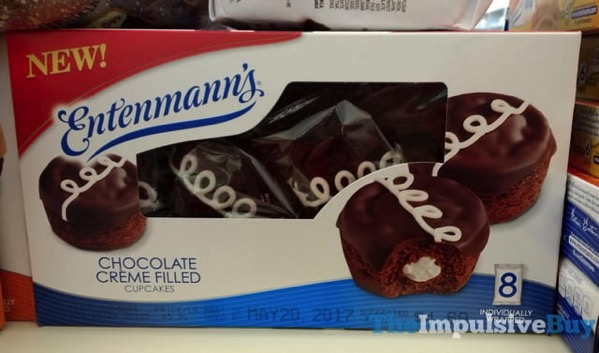 Entenmann s Chocolate Creme Filled Cupcakes