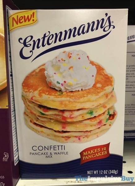 Entenmann s Confetti Pancake  Waffle Mix