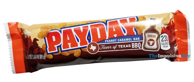 Flavor of Texas BBQ PayDay Bar