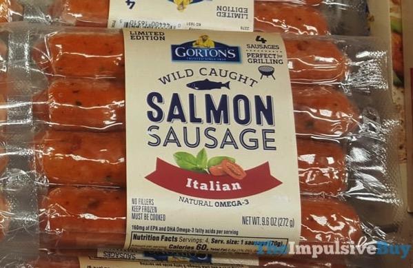Gorton s Limited Edition Italian Salmon Sausage