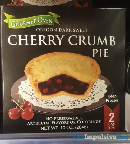 Gourmet Oven Cherry Crumb Pie