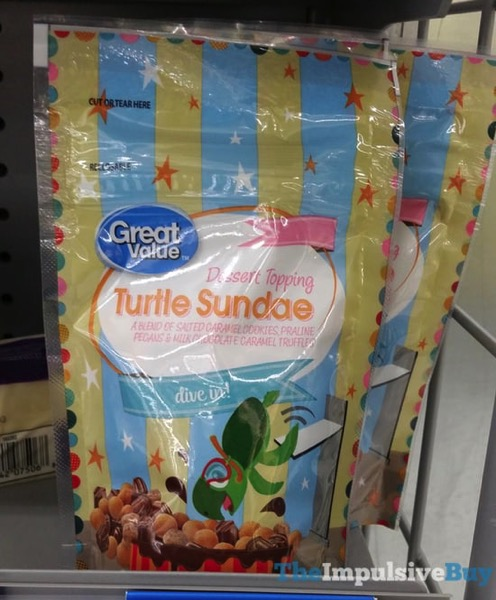 Great Value Turtle Sundae Dessert Topping