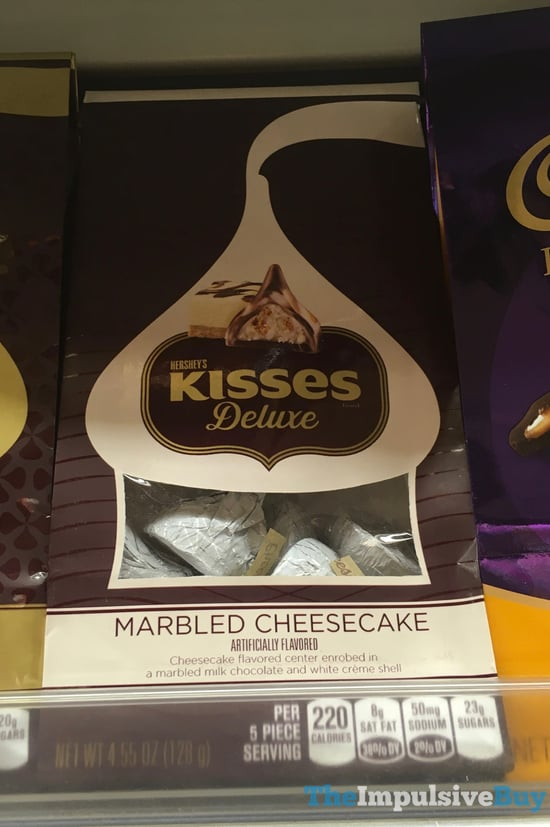Hershey s Kisses Deluxe Marbled Cheesecake
