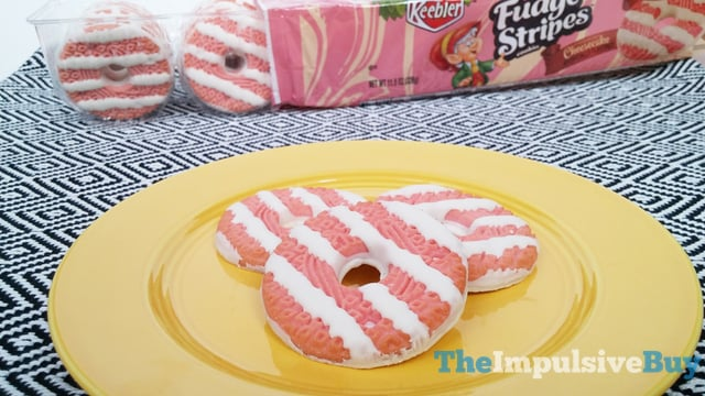 Keebler Limited Batch Strawberry Cheesecake Fudge Stripes Cookies 3