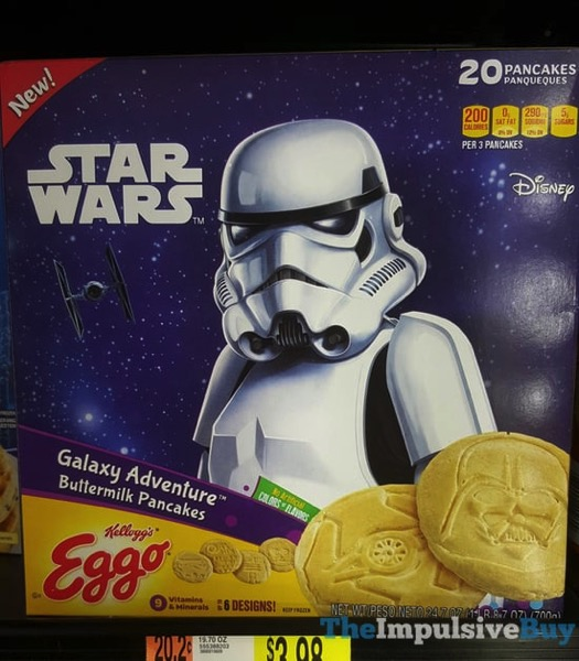 Kellogg s Eggo Star Wars Galaxy Adventure Buttermilk Pancakes