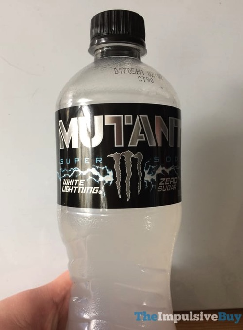 Monster Mutant White Lightning Super Soda