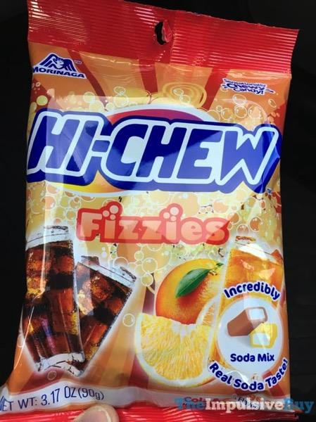 Morinaga Hi Chew Cola  Orange Soda Fizzies