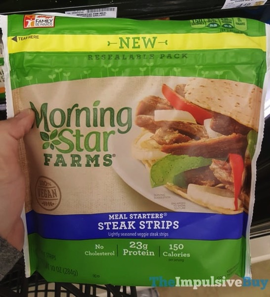 Morningstar Farms Meal Starters Steak Strips