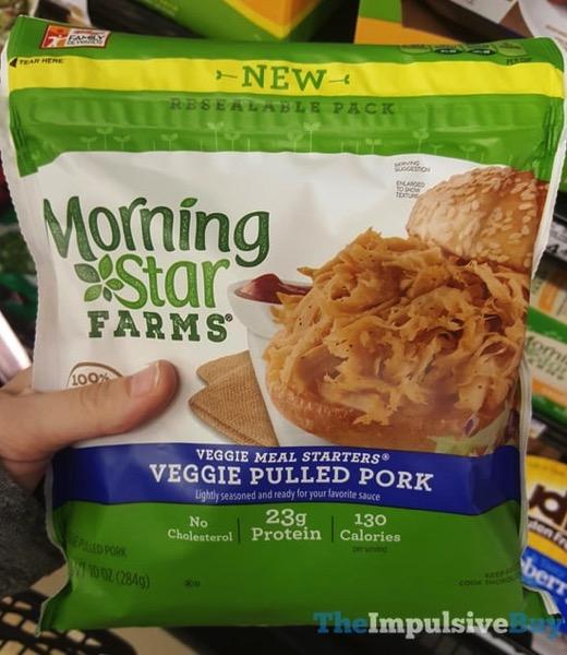 Morningstar Farms Veggie Meal Starters Veggie Pulled Pork