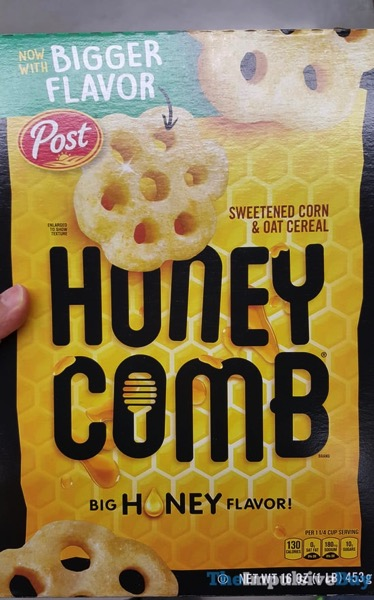 New and Improved Honeycomb Cereal  2017