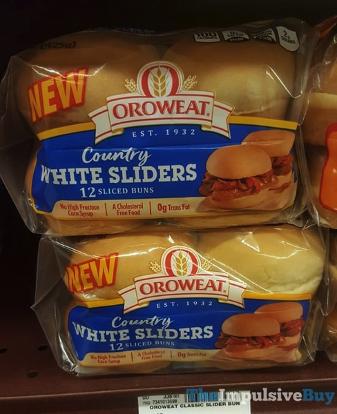 Oroweat Country White Sliders