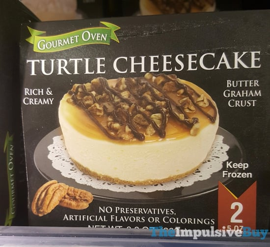 Over Gourmet Turtle Cheesecake