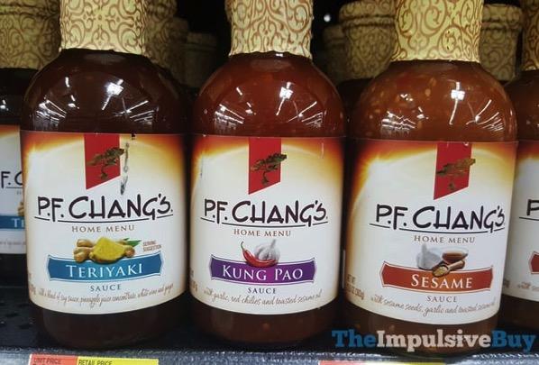 P F Chang s Home Menu Sauces  Teriyaki Kung Pao and Sesame