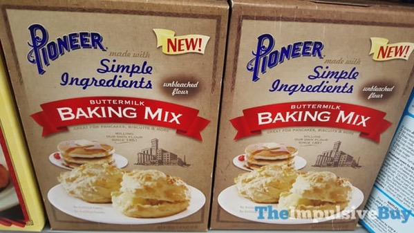 Pioneer made with Simple Ingredients Buttermilk Baking Mix