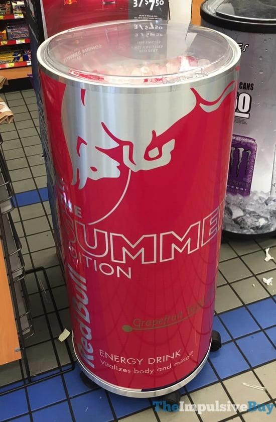 Red Bull The Summer Edition Grapefruit Twist