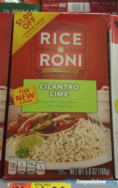 Rice A Roni Cilantro Lime
