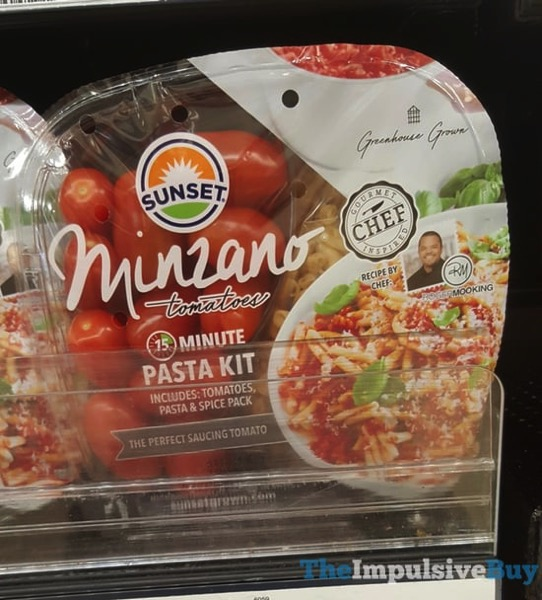 Sunset Minzano Tomatoes 15 Minute Pasta Kit