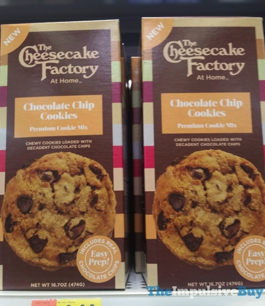 The Cheesecake Factory At Home Chocolate Chip Cookie Mix