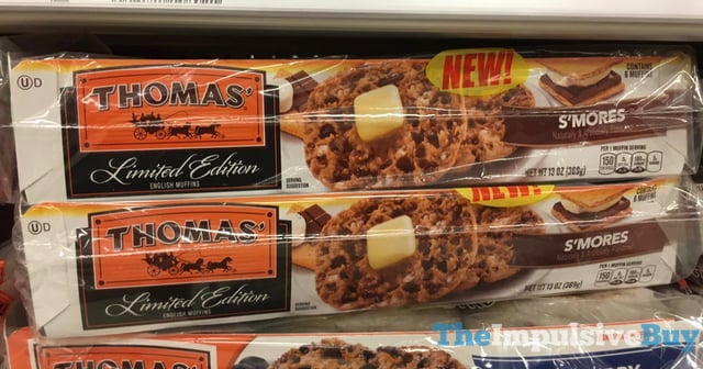 Thomas Limited Edition S mores English Muffins