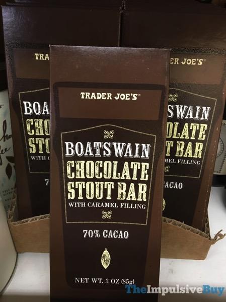 Trader Joe s Boatswain Chocolate Stout Bar