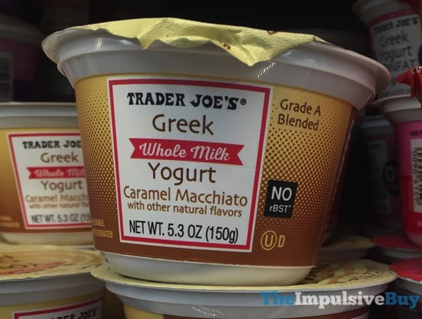 Trader Joe s Caramel Macchiato Whole Milk Greek Yogurt