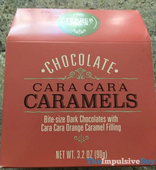 Trader Joe s Chocolate Cara Cara Caramels