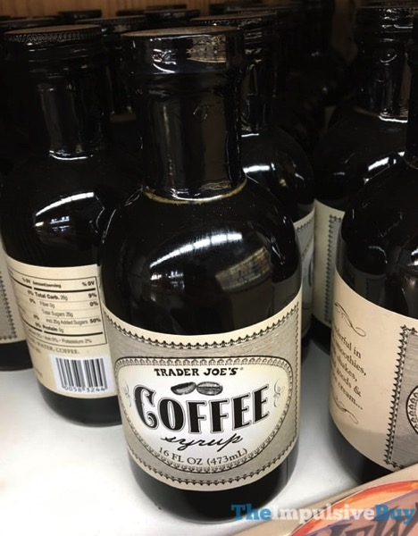 Trader Joe s Coffee Syrup