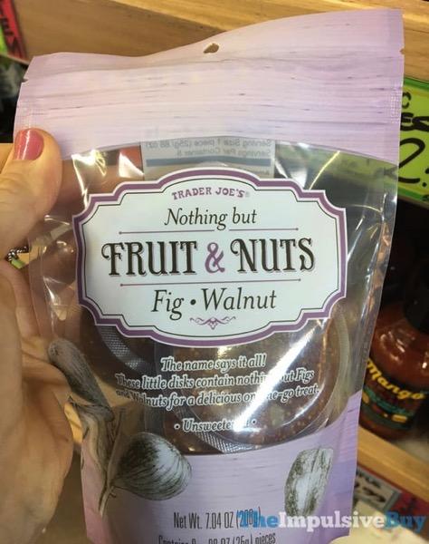 Trader Joe s Nothing But Fruit  Nuts Fig Walnut
