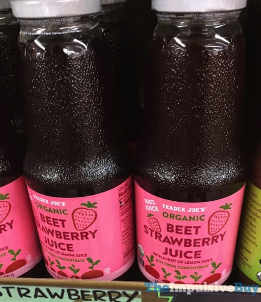 Trader Joe s Organic Beet Strawberry Juice