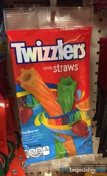 Twizzlers Rainbow Candy Straws
