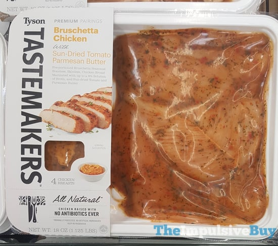 Tyson Tastemakers Bruschetta Chicken