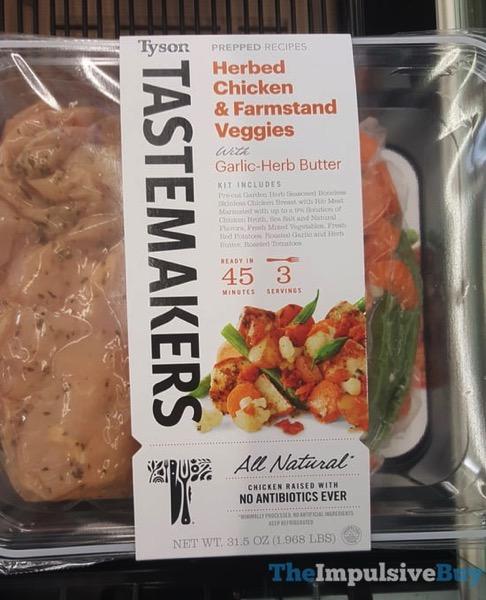 Tyson Tastemakers Herbed Chicken  Farmstand Veggies