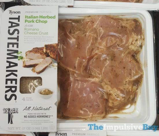 Tyson Tastemakers Italian Herbed Pork Chop