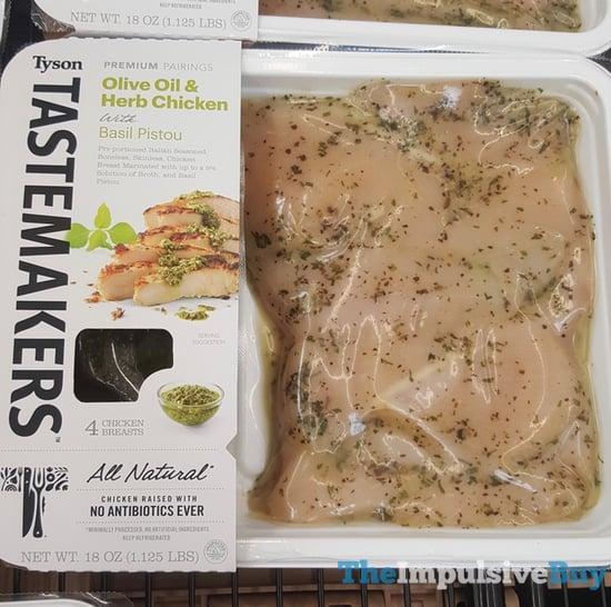 Tyson Tastemakers Olive Oil  Herb Chicken